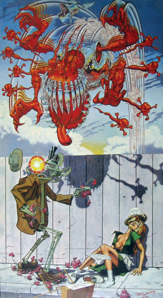 Robert Williams, Appetite for destruction