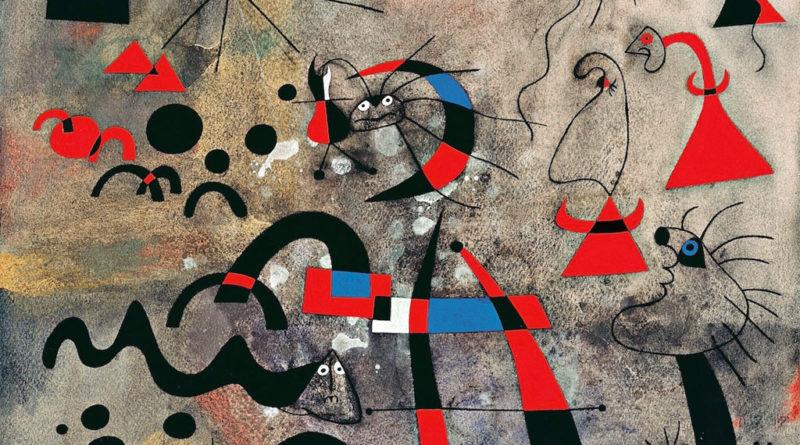 Joan Mirò Scala della fuga (o Scala dell'evasione), Serie: Costellazioni