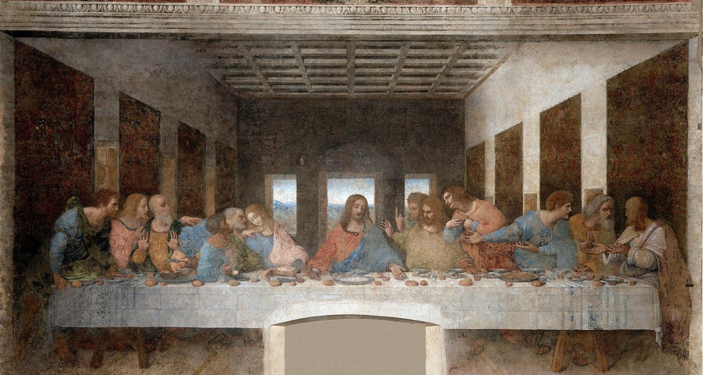 Leonardo da Vinci, cenacolo (Ultima cena)