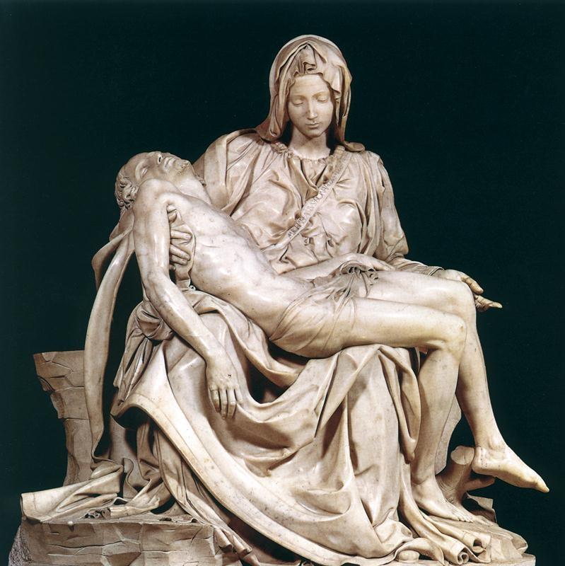 Michelangelo, La Pietà