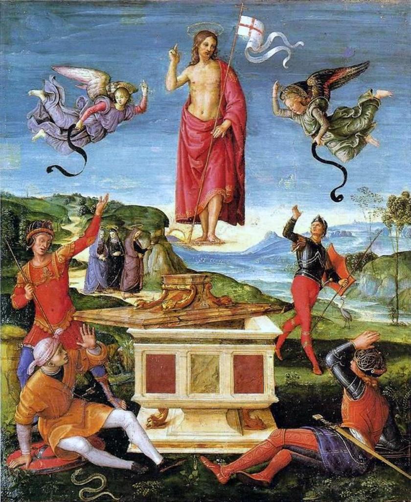 Resurrezione di Raffaello (data della Pasqua)