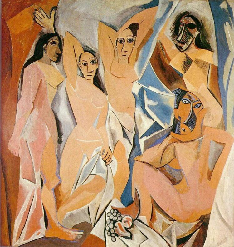"""Risultati immagini per Les Demoiselles d'Avignon"""""""