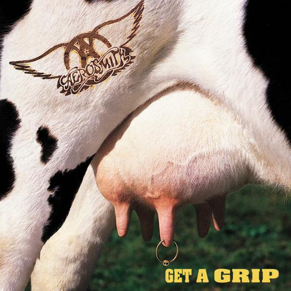 "Aerosmith album ""Get a Grip"" (1993)"
