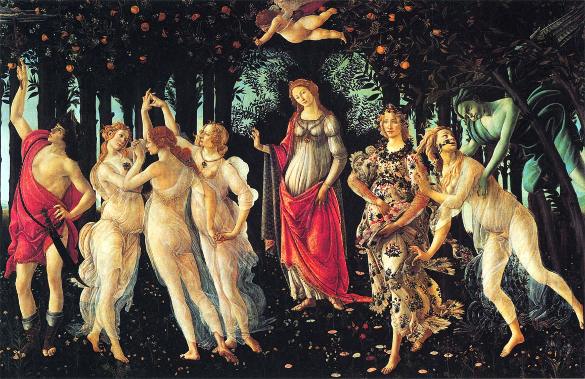 La Primavera Botticelli