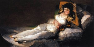 Francisco Goya, Maja Vestida