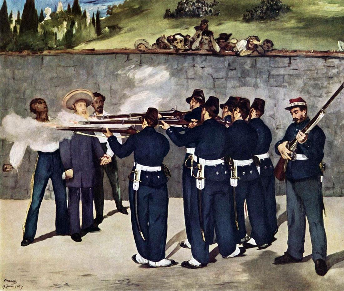 Esecuzione dell'Imperatore Massimiliano I del Messico (Manet)