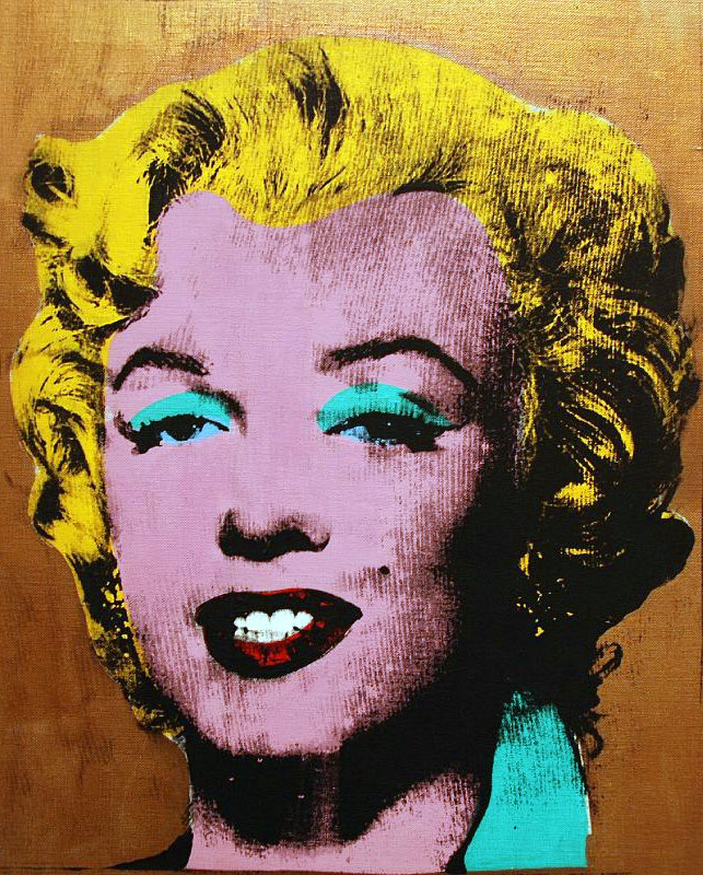 Gold Marilyn Monroe (opera di Andy Warhol)
