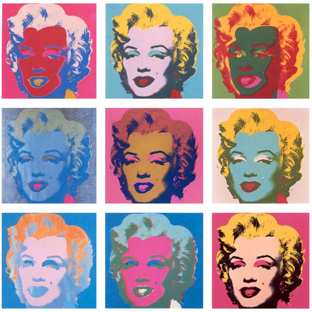 Marilyn Monroe (Serigrafie di Andy Warhol, 1967)