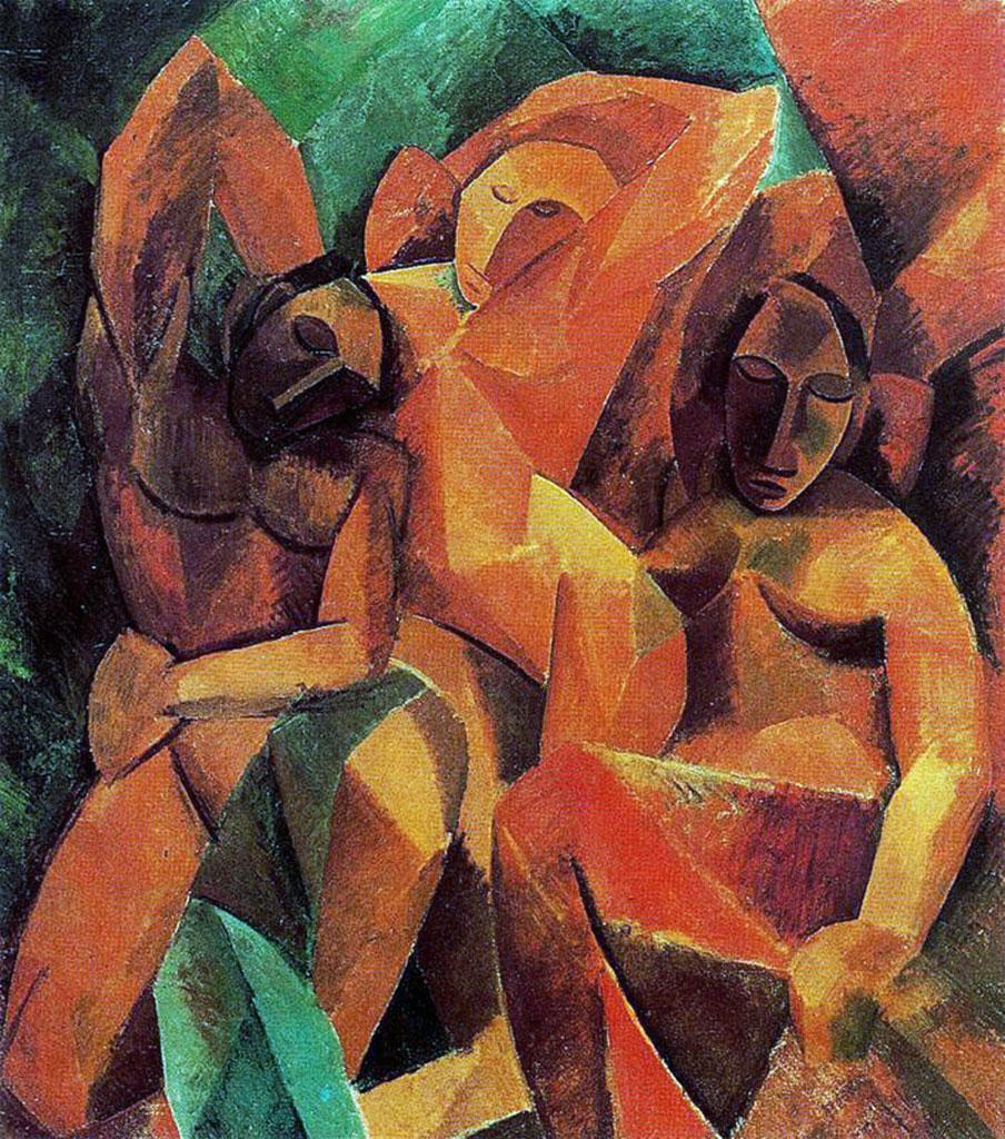 Famoso Tre donne (quadro di Pablo Picasso) ZX04