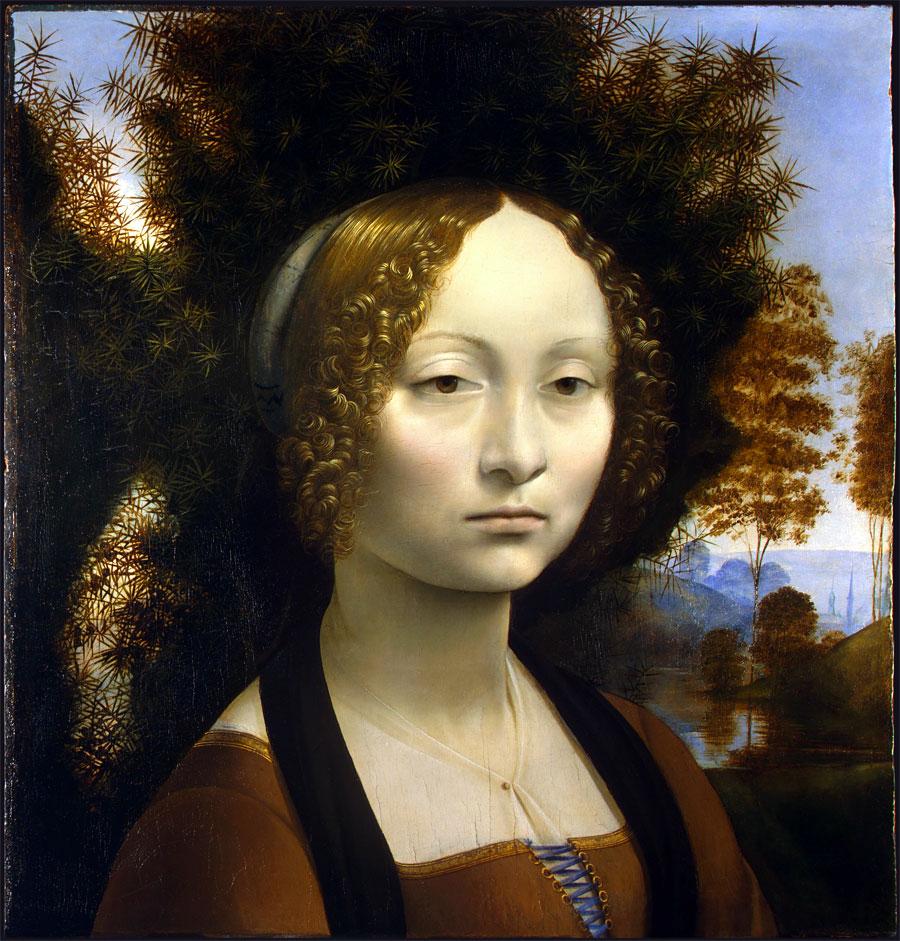 Ginevra de' Benci - Leonardo