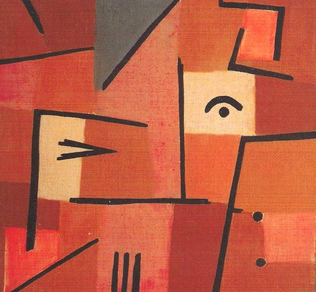 Sguardo dal rosso (Paul Klee)