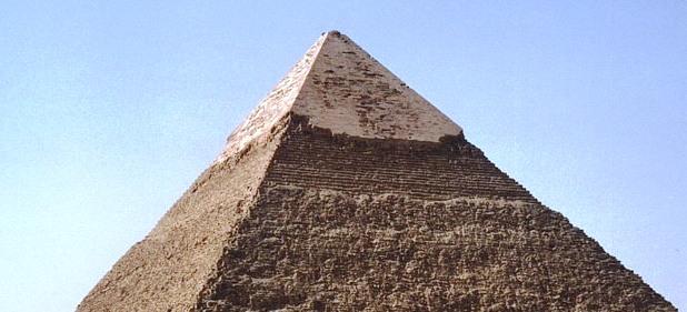 Piramide di Chefren - sommità