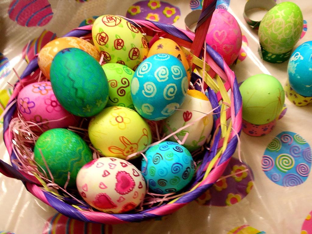 Le origini delle uova di Pasqua