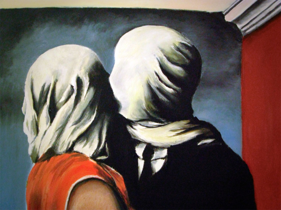 Amanti, Magritte