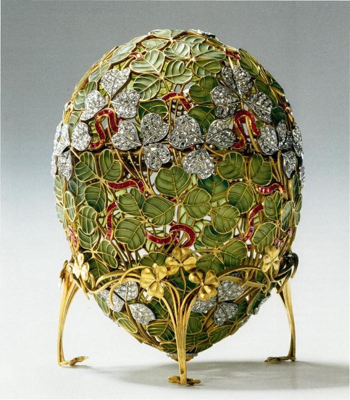 Uovo di trifoglio - Fabergé
