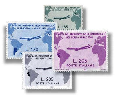 I francobolli Gronchi: la serie