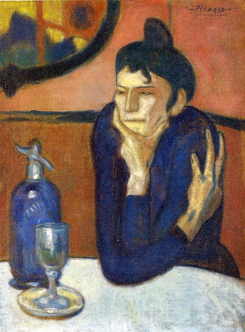 La bevitrice di assenzio