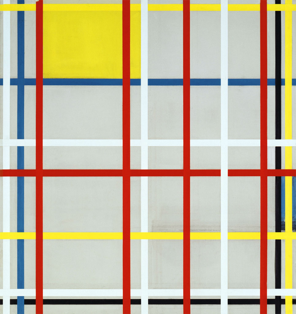 Piet Mondrian: New York City 3 (1941)