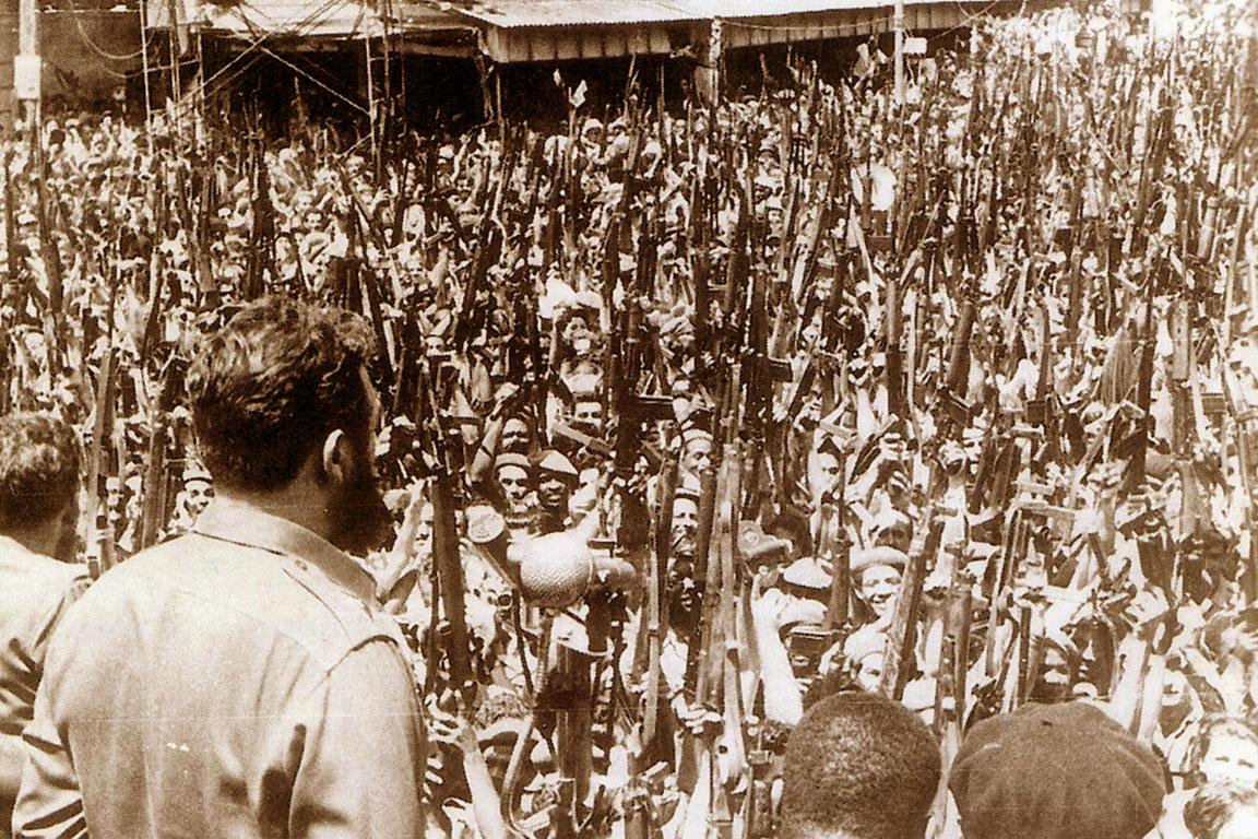 Fidel Castro, Baia dei Porci: 16 aprile 1961