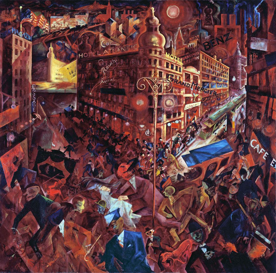 Metropolis - Opera famosa di George Grosz