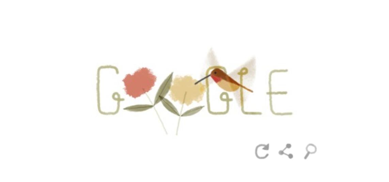 Il doodle animato che Google ha dedicato alla giornata mondiale della Terra nel 2014