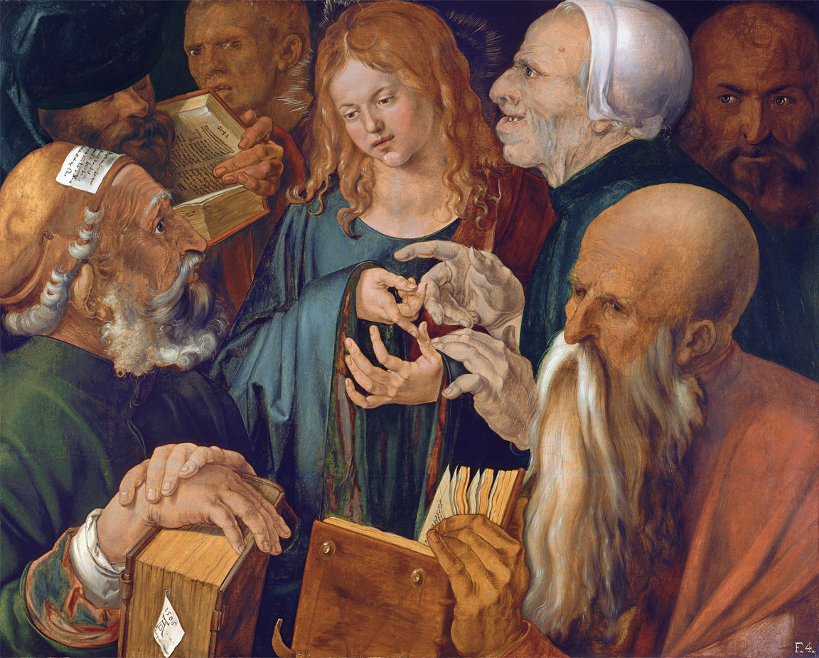 Albrecht Durer, Gesù tra i dottori (1506)