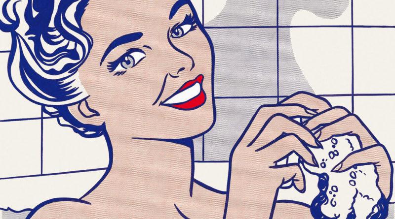 Roy Lichtenstein - donna bagno