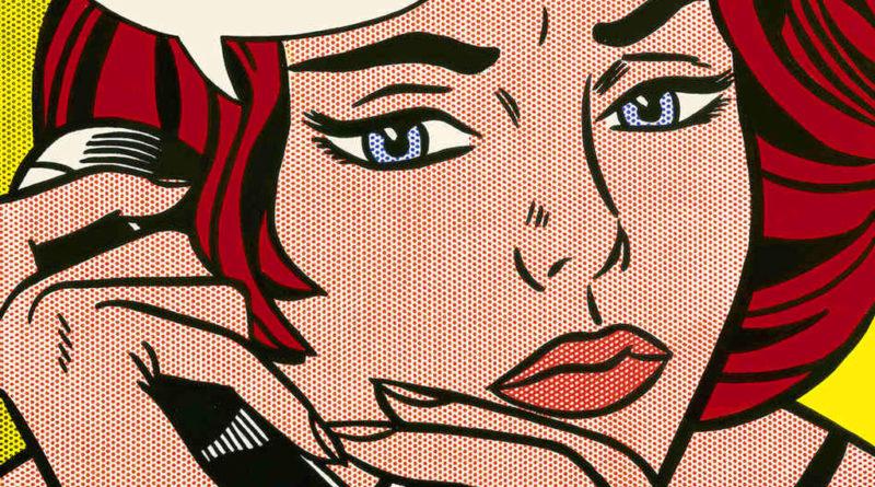 Roy Lichtenstein - donna fumetto