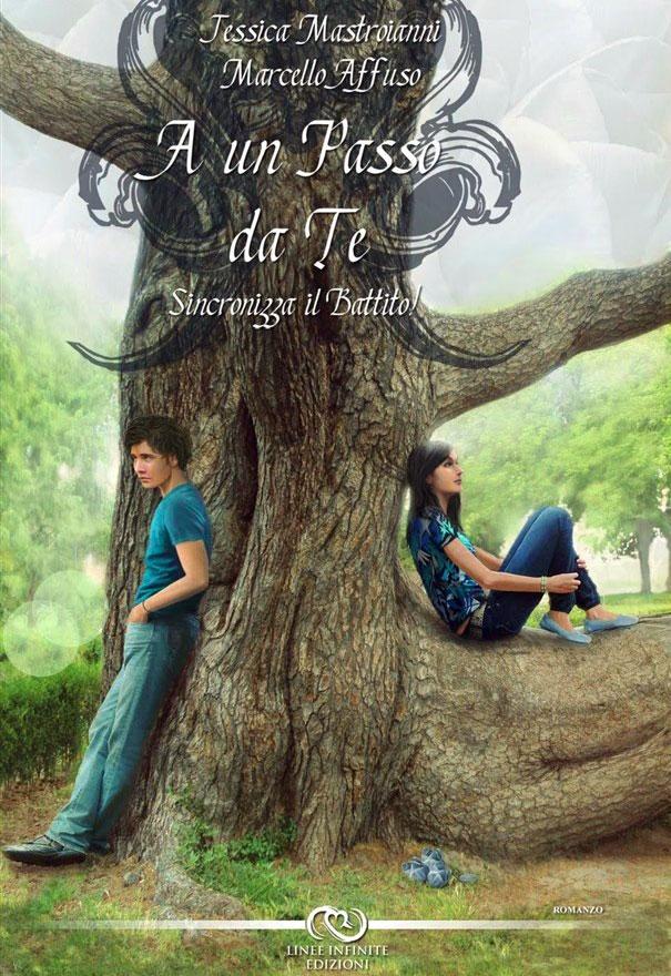 """""""A un passo da te"""" - Sincronizza il battito: la copertina del libro"""