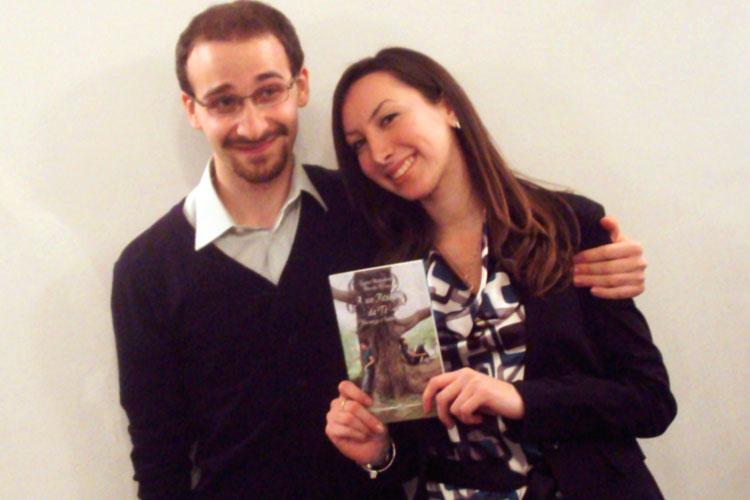 Gli autori del libro (Marcello Affuso - Jessica Mastroianni)