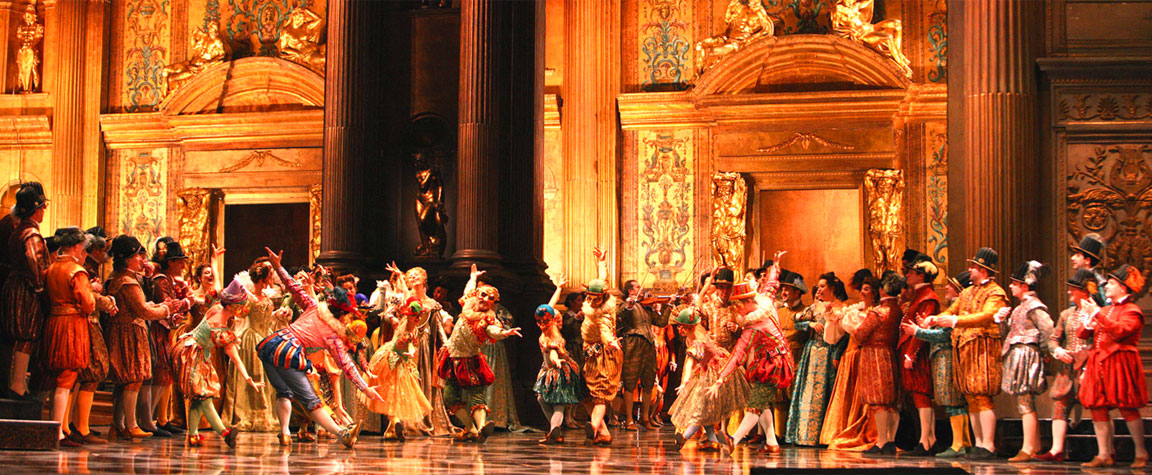Nella foto: Rigoletto, opera di Giuseppe Verdi