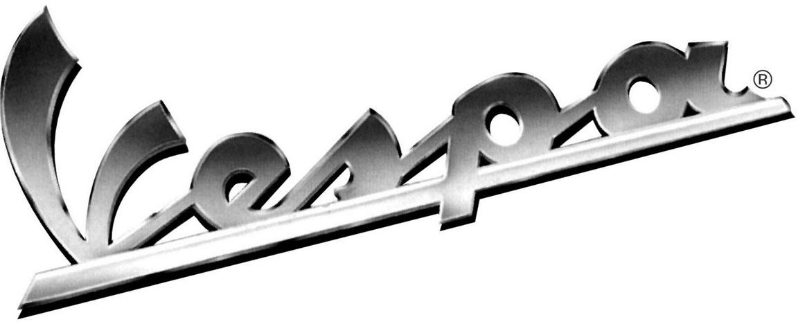 Il logo Vespa