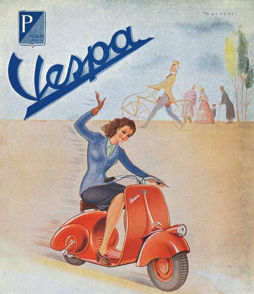 Storia della Vespa Piaggio