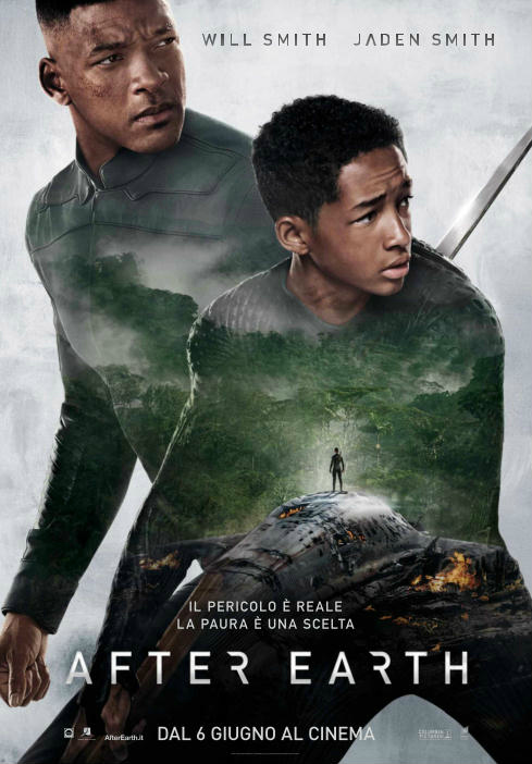 After Earth locandina