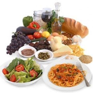 I cibi della dieta mediterranea