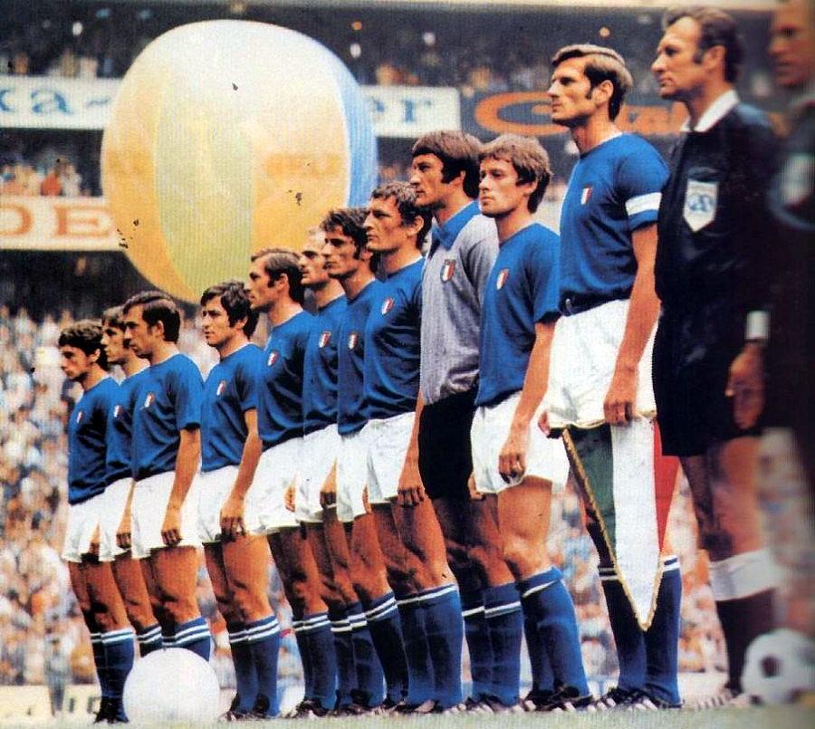 Italia - Germania (4-3) - Semifinale dei mondiali di calcio Messico '70