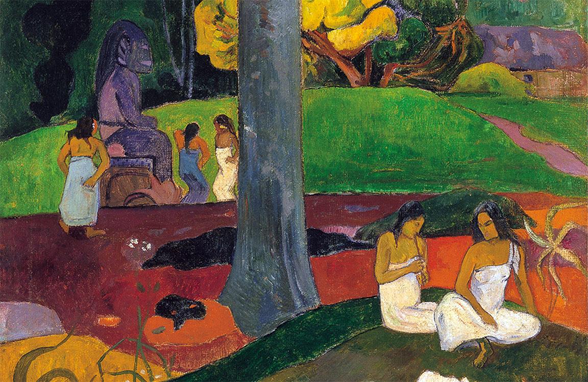 Mata Mua, quadro famoso di Gauguin