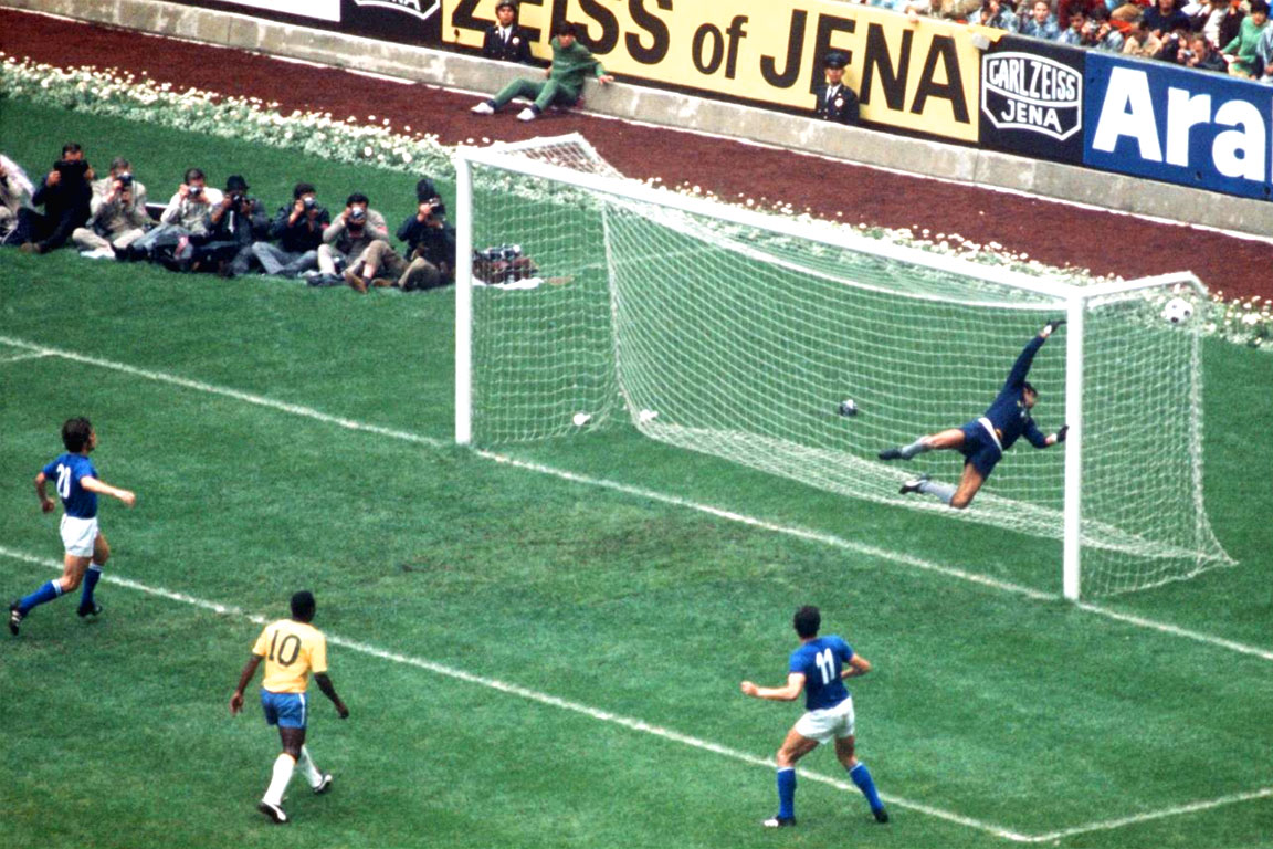 Messico 1970: Italia - Brasile (4-1)