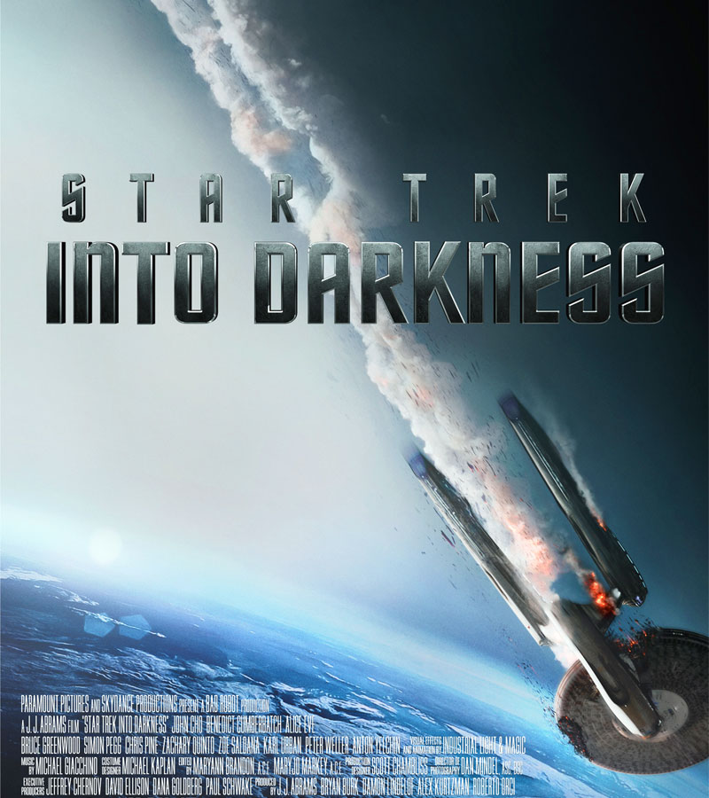 Into Darkness - Star Trek poster e locandina