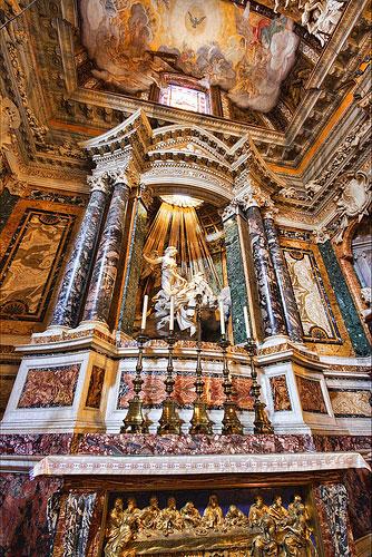 Estasi di Santa Teresa d'Avila: collocazione