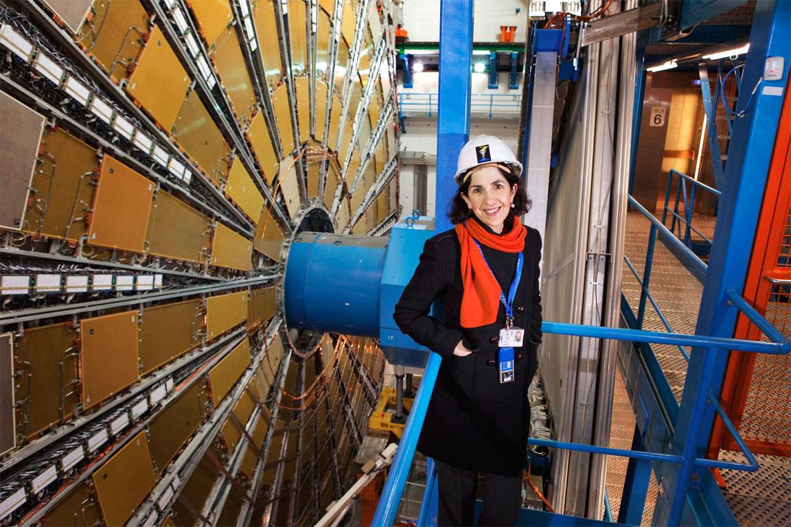 Fabiola Gianotti al CERN