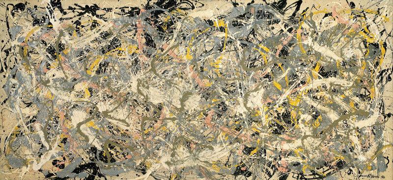 Numero 27, quadro famoso di Jackson Pollock