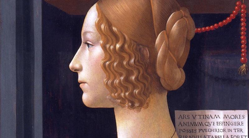 Ritratto di Giovanna Tornabuoni - dettaglio