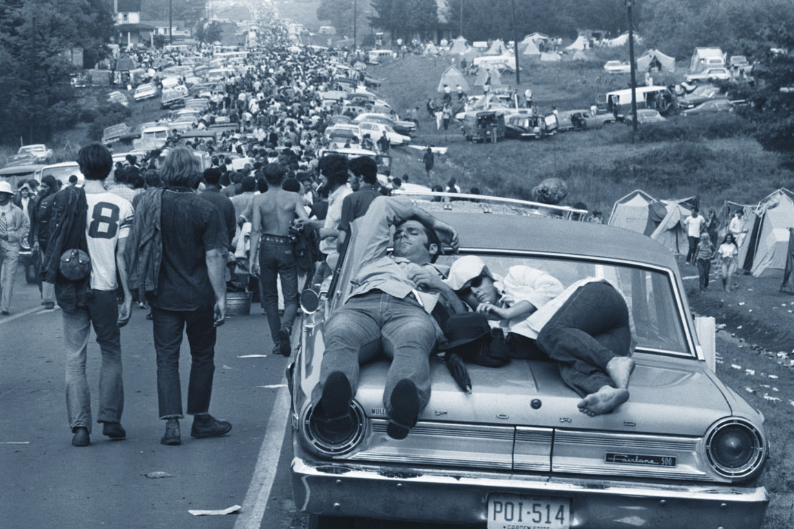 Woodstock 1969 - una foto della folla