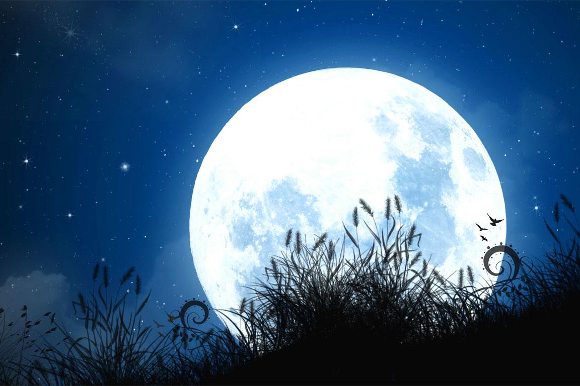 Un'immagine dedicata Alla luna