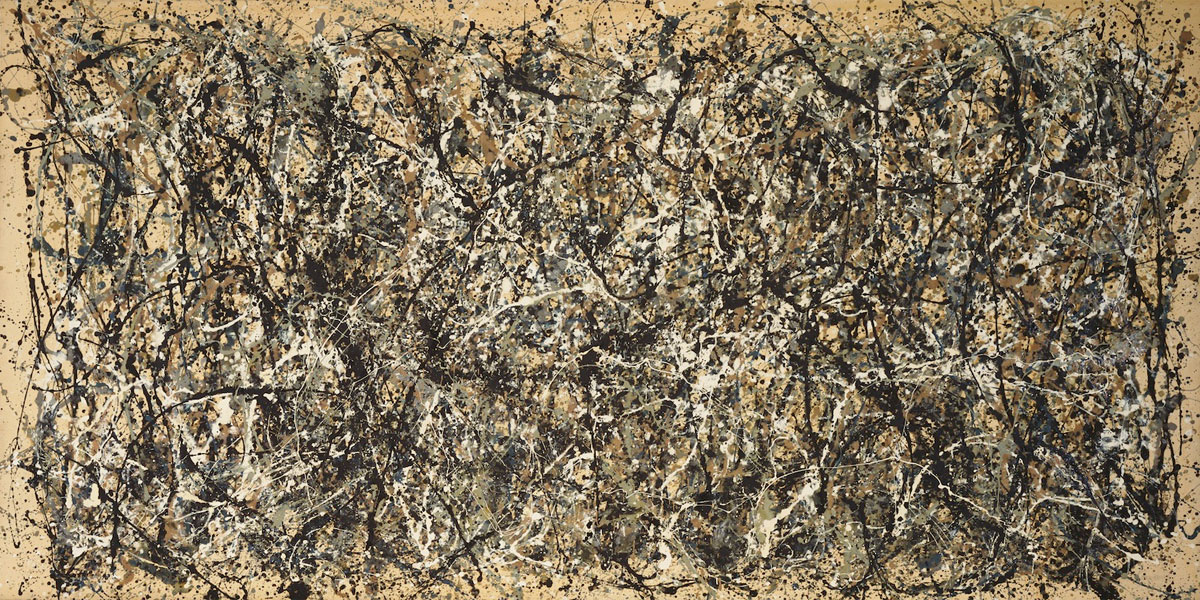 Autumn Rhythm N 30, di Jackson Pollock