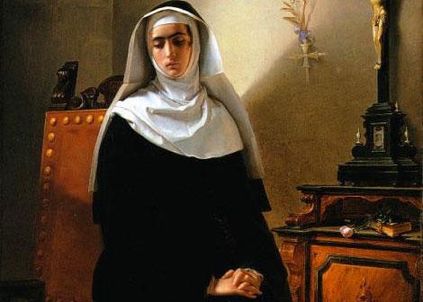 La monaca di Monza - un quadro ispirato al personaggio manzoniano