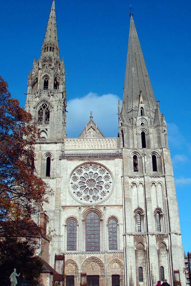 La Cattedrale di Chartres: la facciata