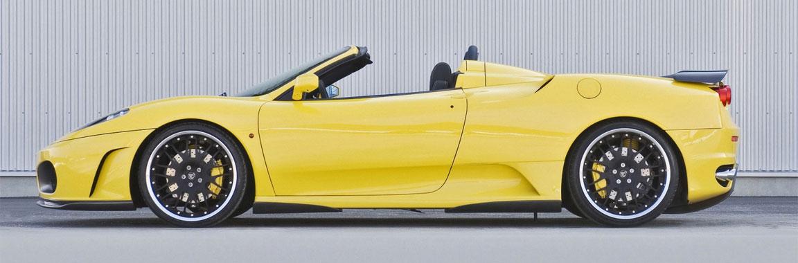 Una Ferrari gialla