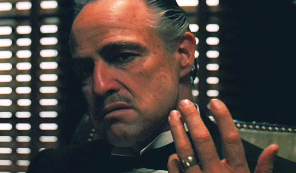 Il Padrino (nella foto interpretato da Marlon Brando): un capo mafia